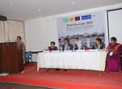 National Conference on Child Rights- Participation and Play in the Urban Context