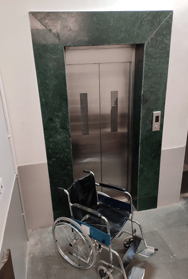 Lift and Wheel Chair